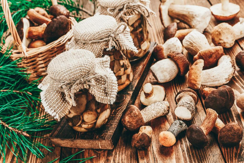 Натуральные грибы