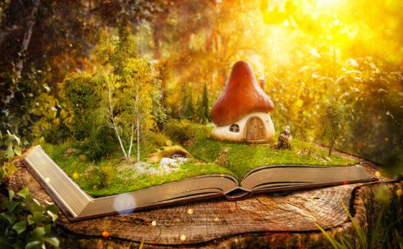 Книга стихов о грибах для детей